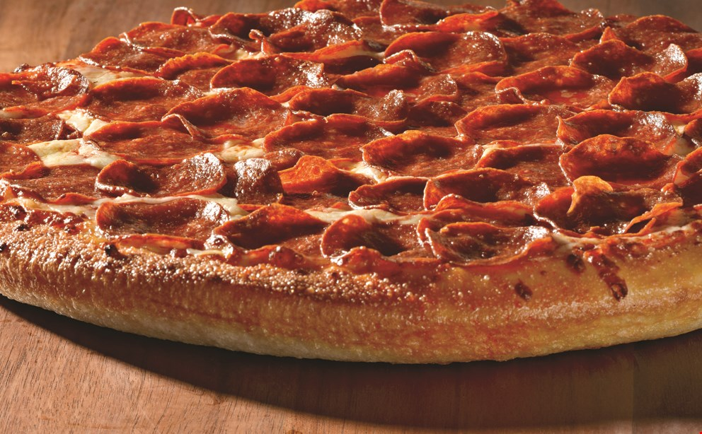 Product image for Papa John's $18 Lg. 1-topping pizza & order of papa wings.