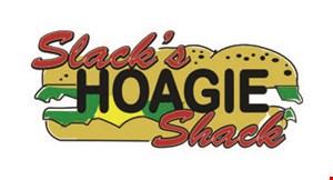 Product image for Slack's Hoagie Shack 10% OFF catering order.