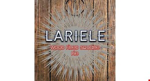 Product image for Lariele Wood Fired Square Pie $1 off pizza kit.
