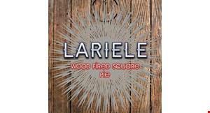 Lariele Wood Fired Square Pie logo