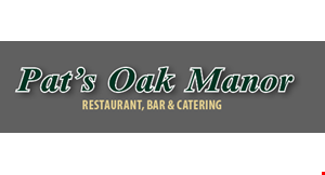Product image for Pat's Oak Manor $1 off fish fry (max 4 per table).