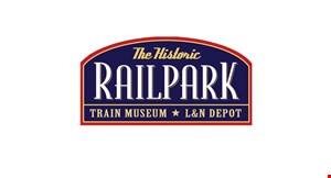 Historic Railpark & Train Museum logo
