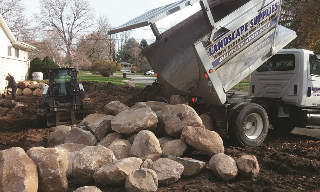 Product image for Best Bark & Stone $1.00 Off PER YARD Any Bark, Mulch, Natural Stone or Soil Products.