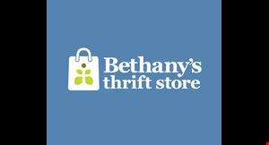 Bethany's Thrift Store logo