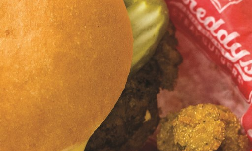 Product image for Freddy's Frozen Custard & Steakburgers $1 off any combo meal purchase