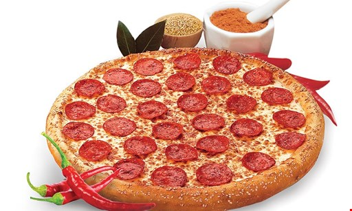 Product image for Hungry Howie's $15.99 Deep Dish 2-Fer Lg. 1-Topping Deep Dish Pizza & Deep Dish 3 Cheeser Howie Bread