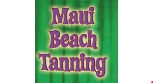 Maui Beach Tanning logo