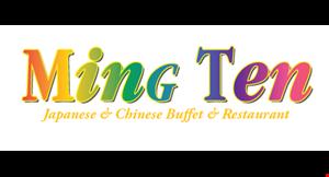 Ming Ten Japanese & Chinese Buffet & Restaurant logo