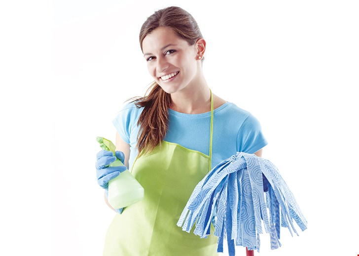 Product image for Molly Maid SAVE $50 $10 off your first five regularly scheduled cleanings .