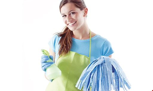 Product image for Molly Maid SAVE $50 $10 off your first five regularly scheduled cleanings