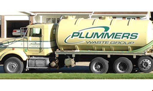 Product image for Plummers - Waste $20 off Septic Cleaning