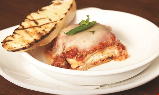 Product image for Uccello's Ristorante  2 LASAGNA OR SPAGHETTI DINNERS FOR $14.99 including garlic bread