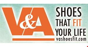 V&A Shoes logo