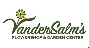 Product image for VanderSalm's Flowershop & Garden Center $5 Off Any Purchase Of $30 Or More.