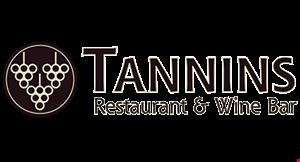 Tannins Restaurant & Wine Bar logo