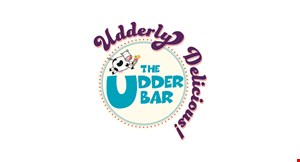 Product image for The Udder Bar $2 off any quart of ice cream.