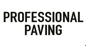 Professional Paving logo