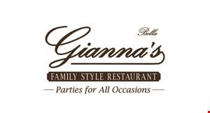 Bella Gianna's logo