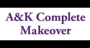 A&K Complete Makeover logo