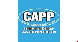 Central Alabama Paintball Park logo