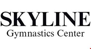 Skyline Gymnastics Center logo