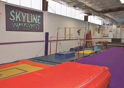 Product image for Skyline Gymnastics Center $10 OFF Registration.