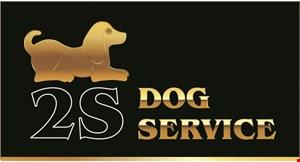 2S Dog Service logo