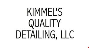 Kimmel's Quality Detailing LLC logo