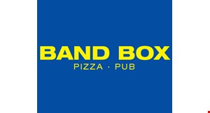 Product image for Band Box Pizza & Pub $19.99 2 large plain cheese pizzas.