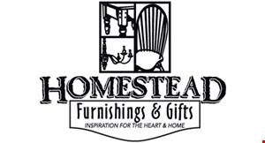 Homestead Furnishing & Gifts logo