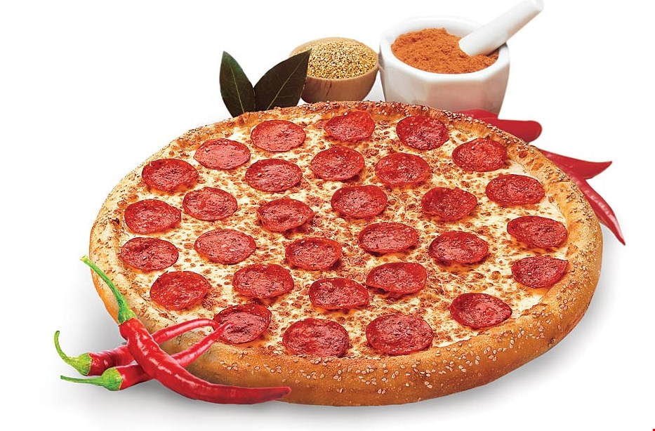 Product image for Hungry Howie's XL DOUBLE TOPPER $14.99 XL 2-Topping Pizza. CODE:0501.