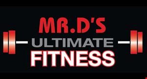 Mr. D's Ultimate Fitness logo