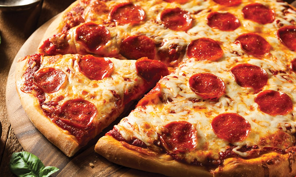 Product image for The Slice Pizza & Games $10 OFF any purchase of $50 or more.