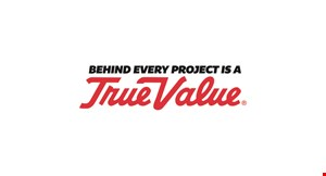Product image for Doylestown True Value 15% off Any Purchase Over $50.