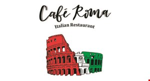 Product image for Cafe Roma 50% off dinner entree