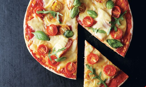 Product image for Bricco Pizzeria and Wine Bar $21.99 2 medium 1-topping pizzas