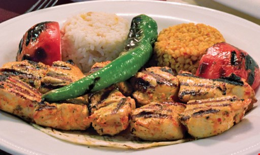 Product image for SARAY TURKISH RESTAURANT 50% off dinner entrée