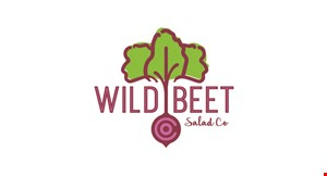 Product image for Wild Beet Salad Co. $10 OFF any order of $50 or more