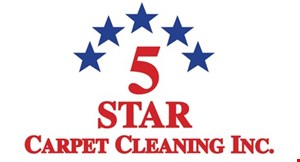 5 Star Carpet Cleaning Inc. logo