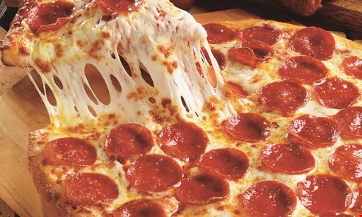Product image for Marcos Pizza $16.99 two medium 2-topping pizzas. Use code: HD1127.