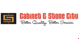 Product image for CABINET & STONE CITY Free stainless steel sink for any granite order over $2000.