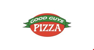 Product image for Good Guys Pizza $3 off Sheet Pizza, $2 off Large Pizza, $1 off Medium Pizza