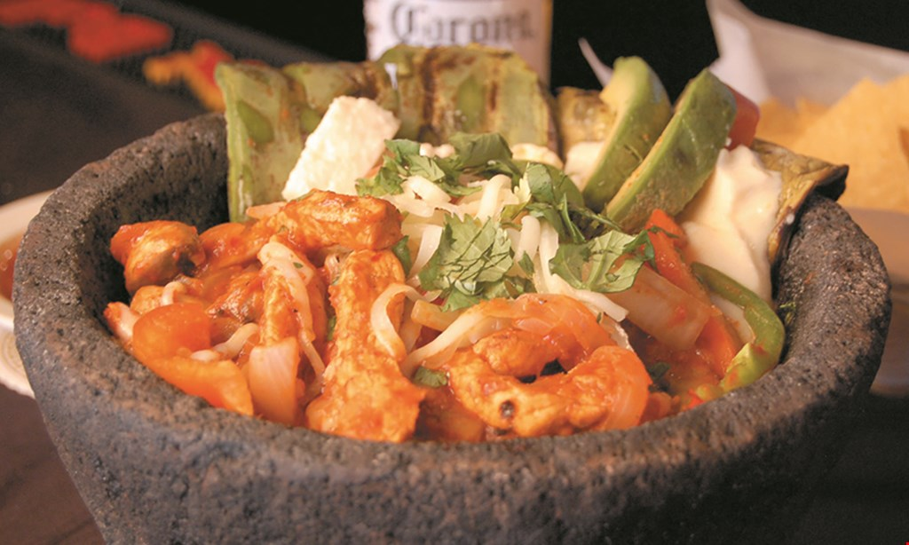 Product image for La Hacienda Family Mexican Restaurant ½ off entree buy 1 lunch or dinner entree & receive a 2nd entree of equal or lesser value at 1/2 off!