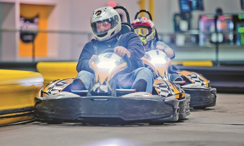 Product image for Steel City Indoor Karting $5 OFF regularly priced race.