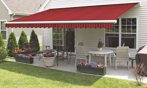 Product image for Dart Awnings TAKE $500 OFF any new Retractable Awning or Tension Shade System installed