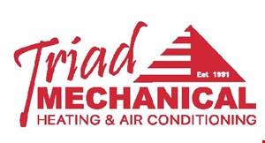 Product image for Triad Mechanical $39 service call