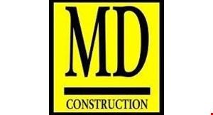 MD Construction logo