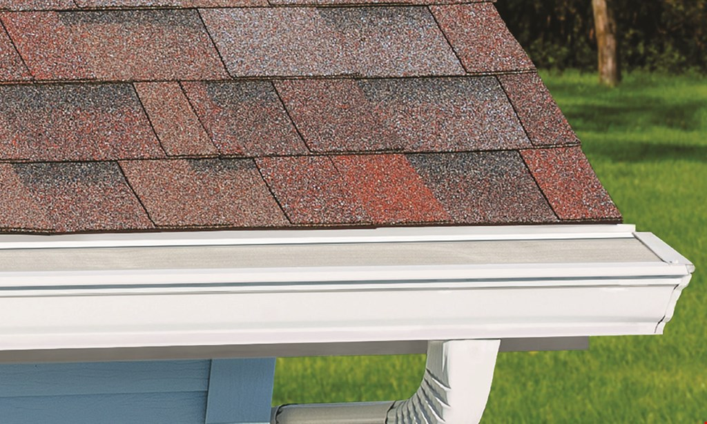 Product image for Leaf Filter Gutter Protection 15% off your entire purchase* & 10% off seniors & military & 5% off to the first 50 callers only!** Financing that fits your budget! www.leaffilter.com/clipper.