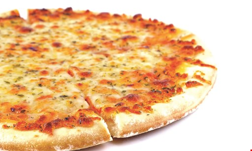 Product image for Villa Nova Pizza $25.99 1-topping pizza, 6 wings, order of fries & 2-liter soda