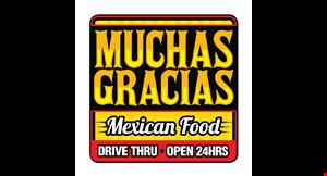 Muchas Gracias Mexican Food logo